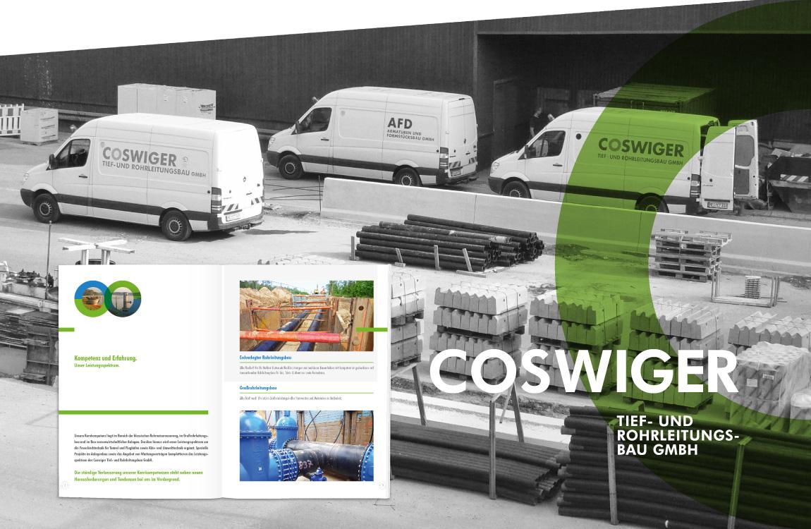 Corporate Design - Geschäftsausstattung - COSWIGER