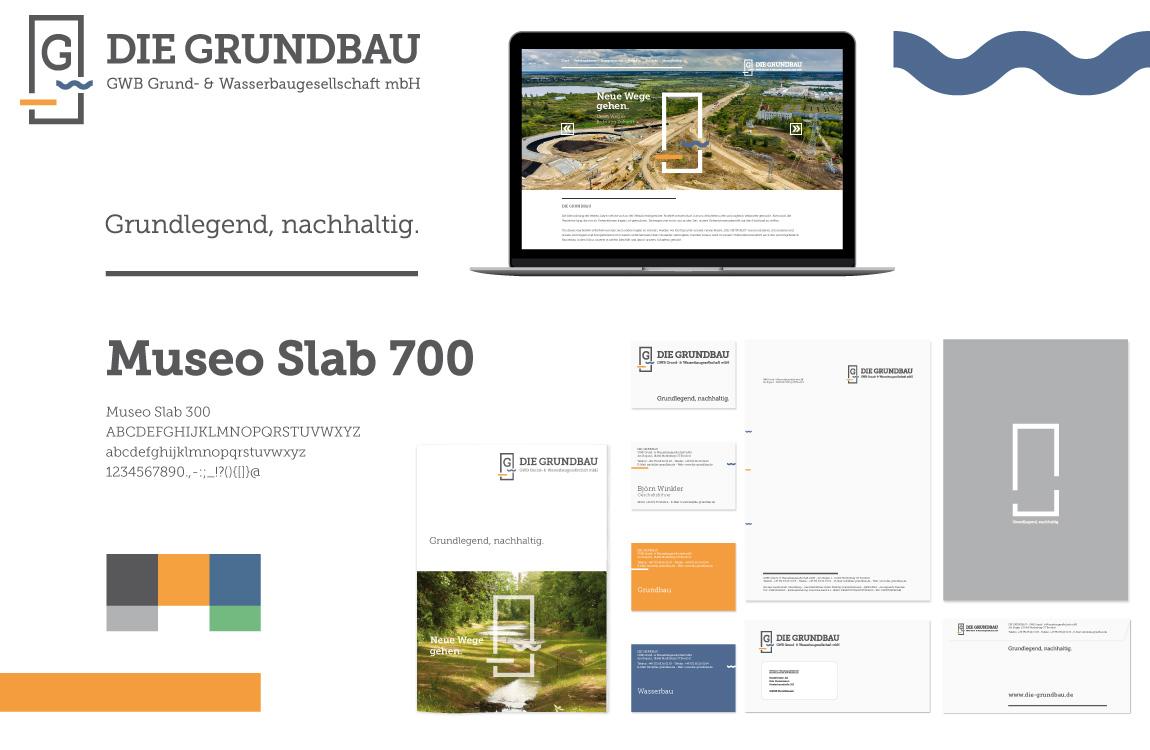 Corporate Design - Markenwelt - Die Grundbau
