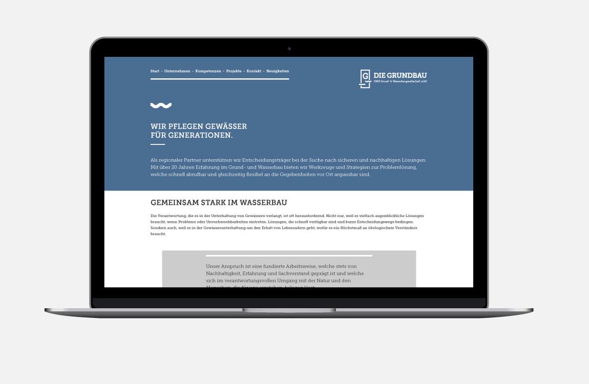 Corporate Design - Webdesign - Die Grundbau