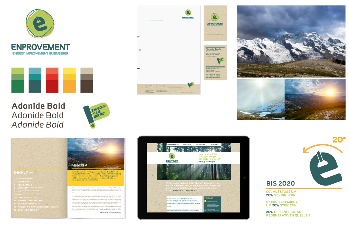 Corporate Identity - Markenwelt - ENPROVEMENT