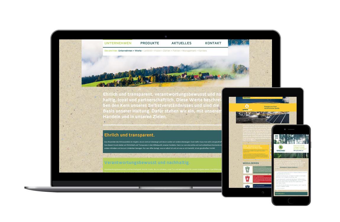 Corporate Identity - Webdesign - ENPROVEMENT