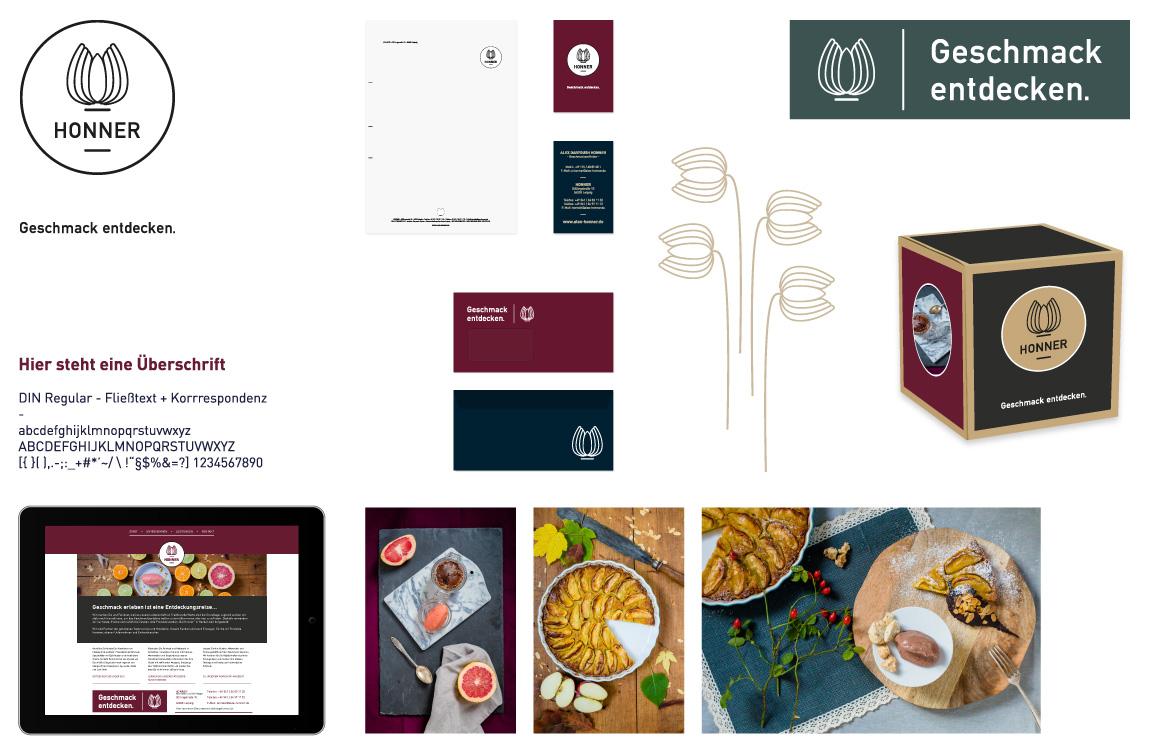 Corporate Identity - Markenwelt - HONNER