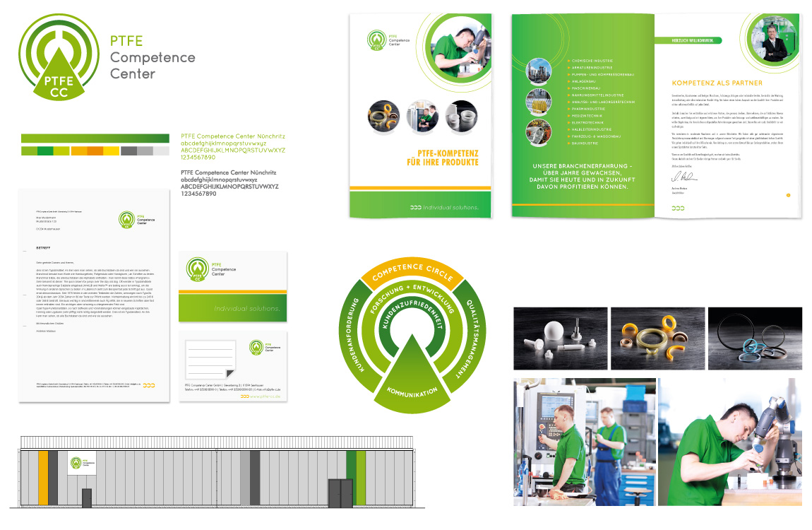 Corporate Design - Markenwelt - PTFE CC