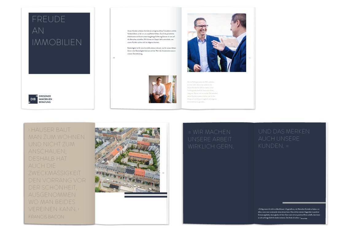 DIB Dresdner Immobilien Beratung - Broschüre