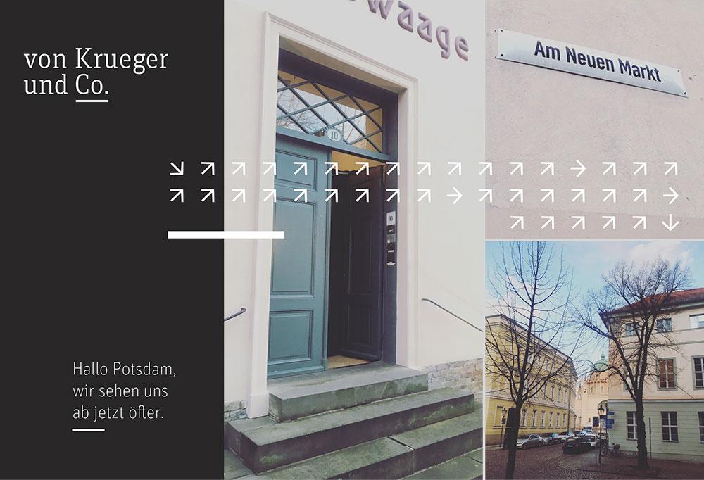 von Krueger und Co. auch in Potsdam
